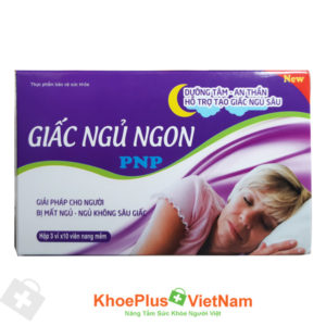 Viên uống Giấc ngủ ngon PNP – dưỡng tâm, an giấc, hỗ trợ tạo giấc ngủ sâu
